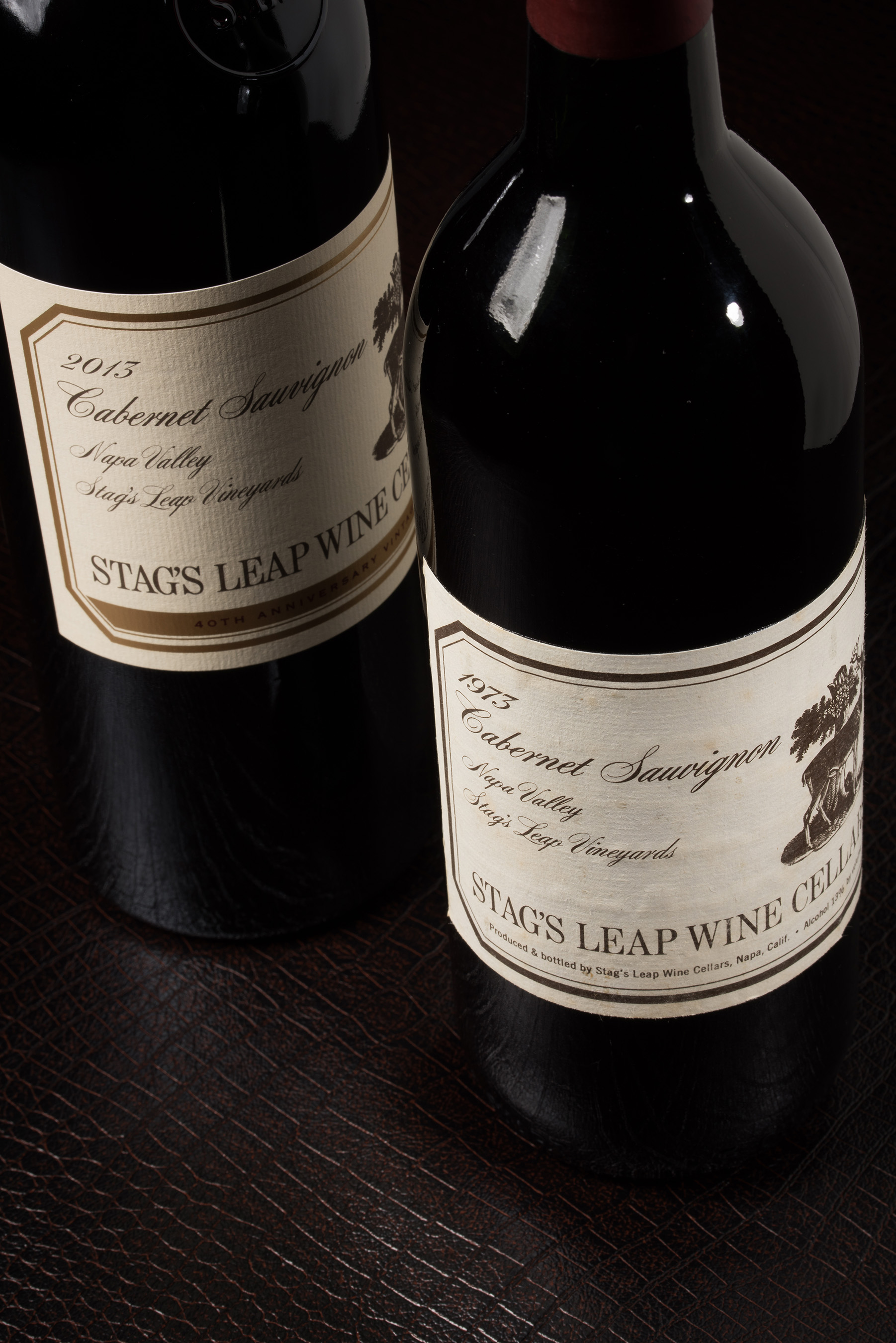 Stag's Leap Wine Cellars releases it 2013 S.L.V. Cabernet Sauvignon with a label replicating that of the famous 1973 S.L.V. Cabernet Sauvignon which took first place at the Paris Tasting of 1976.