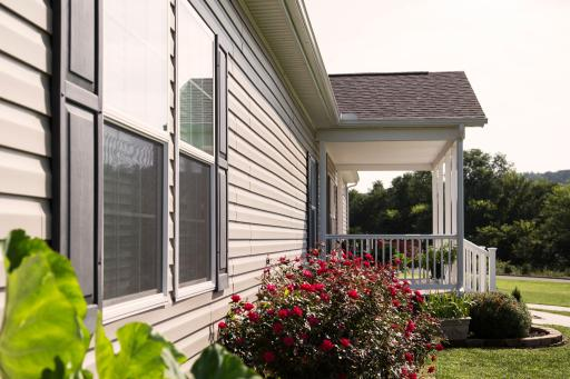 Low-E windows and advanced insulation save money by keeping the temperature of your home regulated.