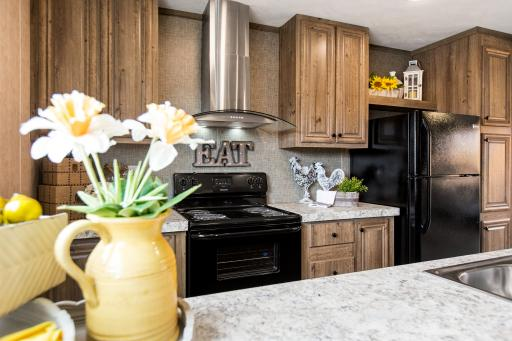 Entertain friends and family in the Breeze II kitchen