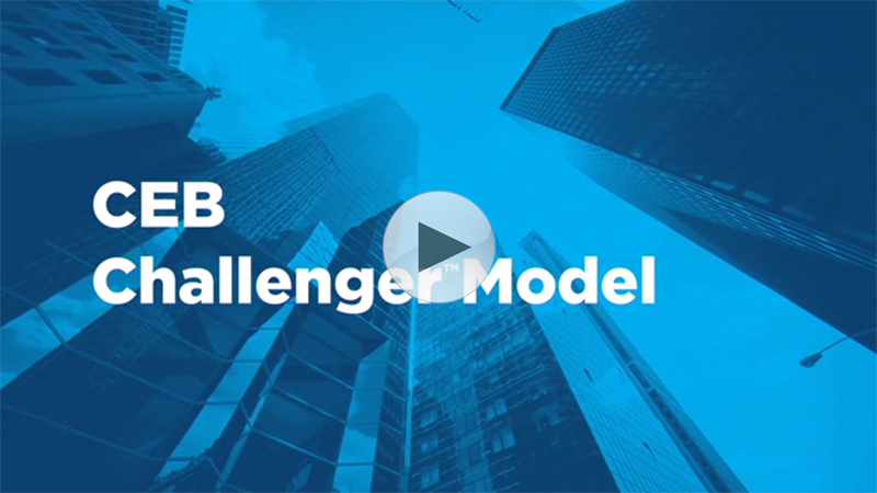 The customer buying journey is ever-evolving, but CEB and its Challenger™ Selling model have been at the center of that evolution, helping B2B sales organizations around the world adapt, overcome challenges and succeed.