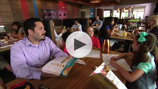 In-restaurant footage of IHOP guests enjoying delicious, perfectly prepared food and beverages. Download link at bottom of page.