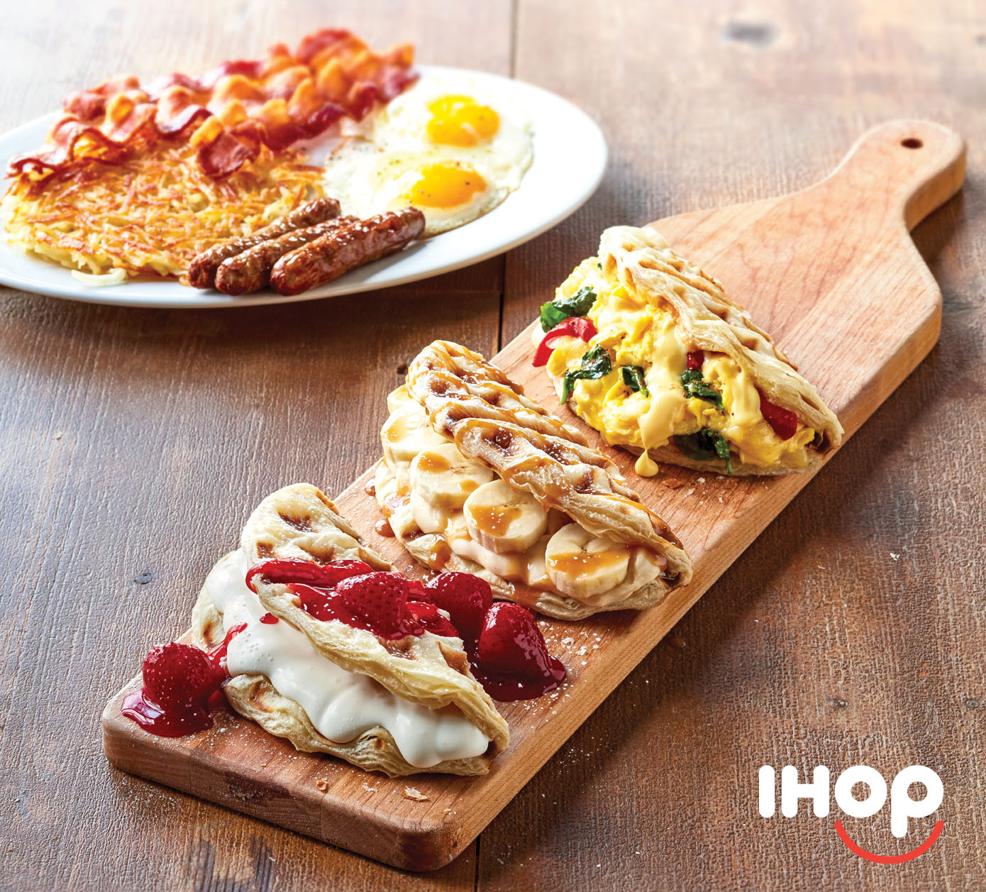 The innovative IHOP dish that revolutionized breakfast is back with three new delicious flavor combinations.