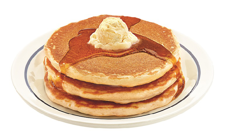 Short Stack of IHOP's Famous Buttermilk Pancakes – Free on National Pancake Day