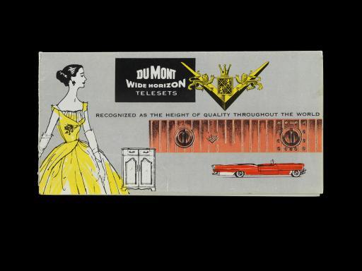 Dumont product literature, 1950s