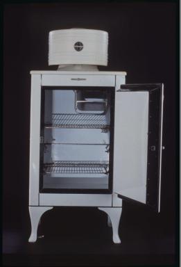 Monitor top refrigerator