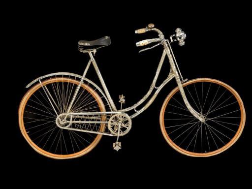 Diamond and emerald encrusted bike, 1896