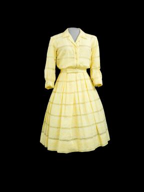 Yellow house dress for the character of Betty Draper (January Jones) worn in Season 1, episode 4