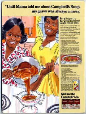 Campbell Soup, Caroline R. Jones Collection, 1976