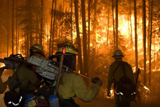 Firefighters Put Their Lives at Risk