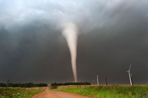 (OLD)Tornado in American Plains