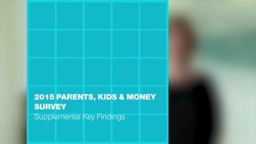 T. Rowe Price's 2015 Parents, Kids & Money Survey