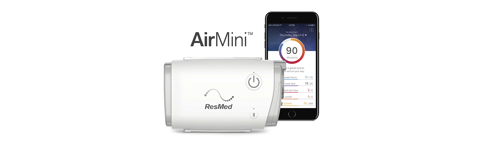 Resmed Unveils Airmini The World S Smallest Cpap