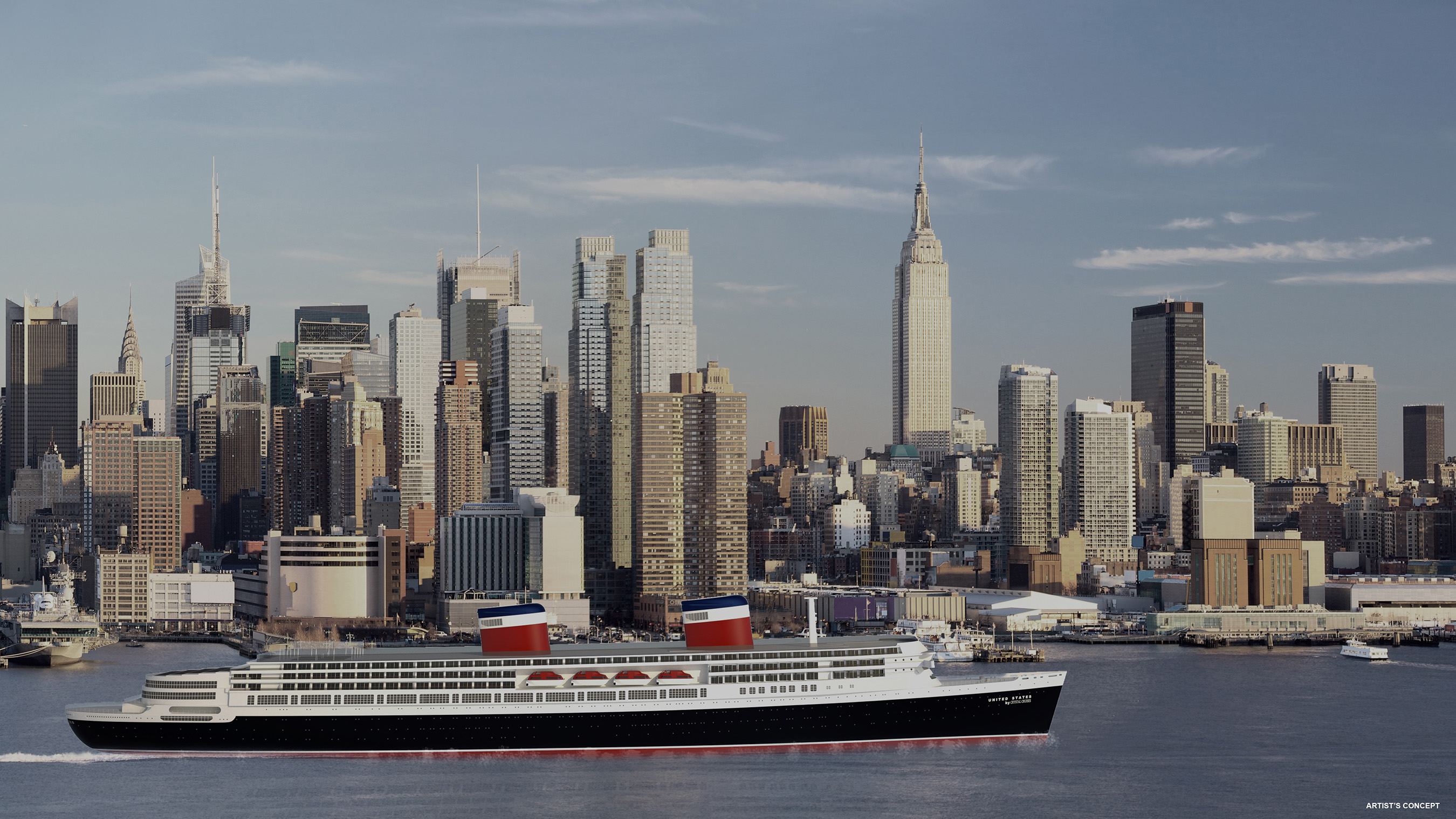 United States by Crystal Cruises, NYC