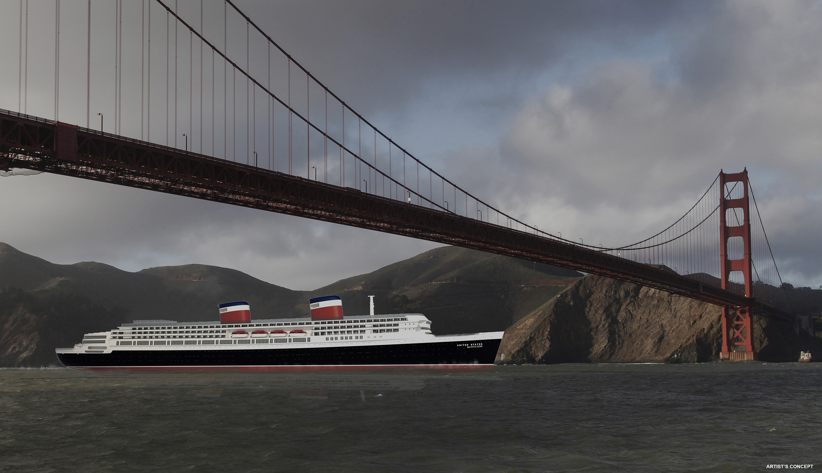 United States by Crystal Cruises, San Francisco