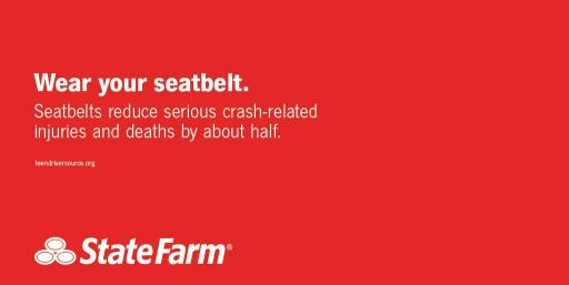Wear Your Seat Belt social graphic