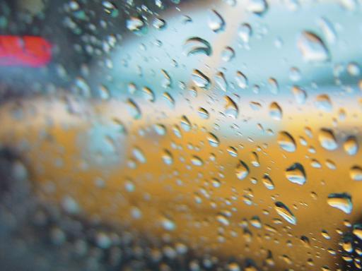 Rain impacts visibility