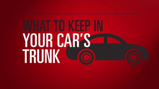 What to Keep in your Car's Trunk