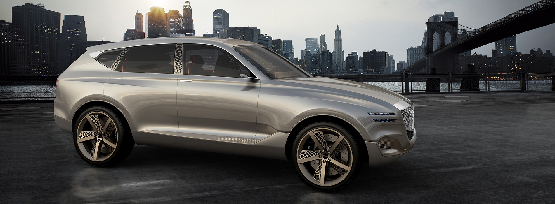 Genesis Reveals Fuel Cell Concept Suv At New York
