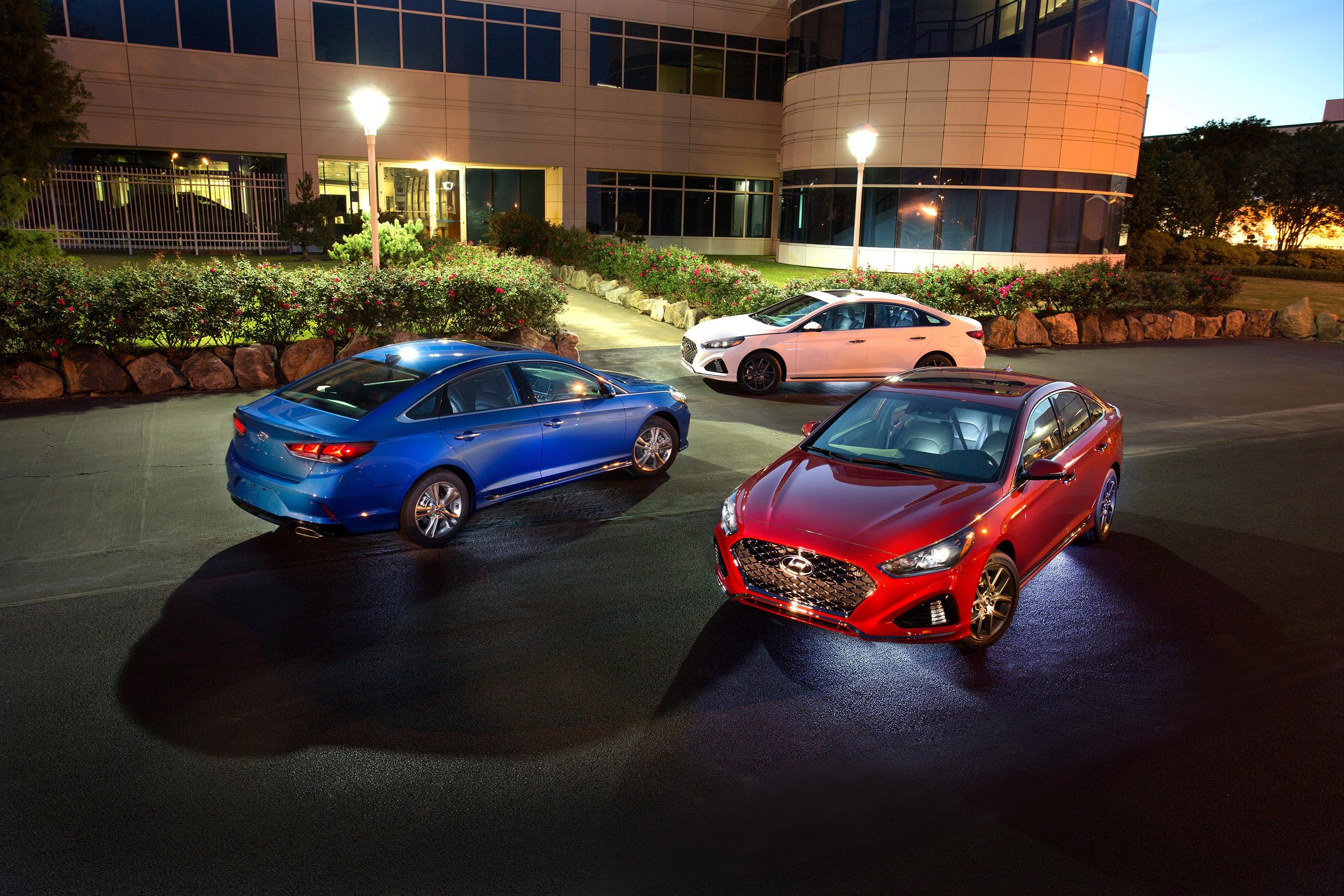 2018 Hyundai Sonata Family Shot