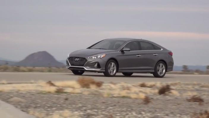 2018 Hyundai Sonata Exterior Running B-Roll