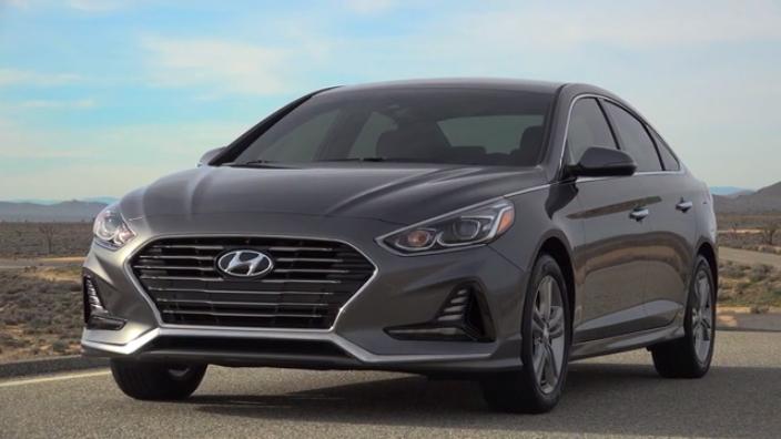 2018 Hyundai Sonata Exterior Static B-Roll