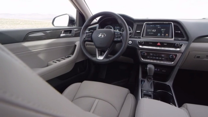 2018 Hyundai Sonata Interior B-Roll