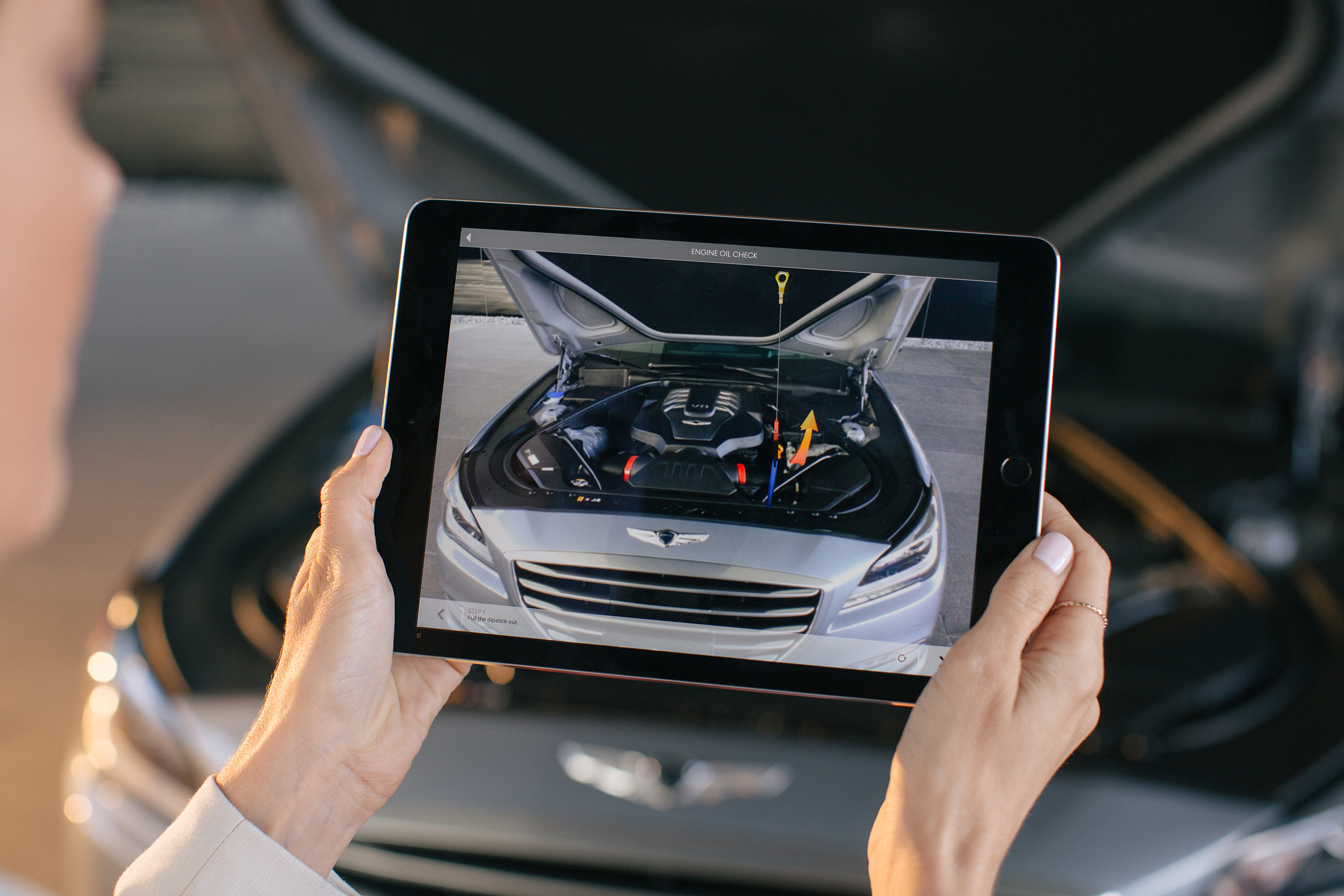 AR (AUGMENTED REALITY) MAINTENANCE INSTRUCTIONS ARE AVAILABLE FOR EACH PART OF THE ENGINE.