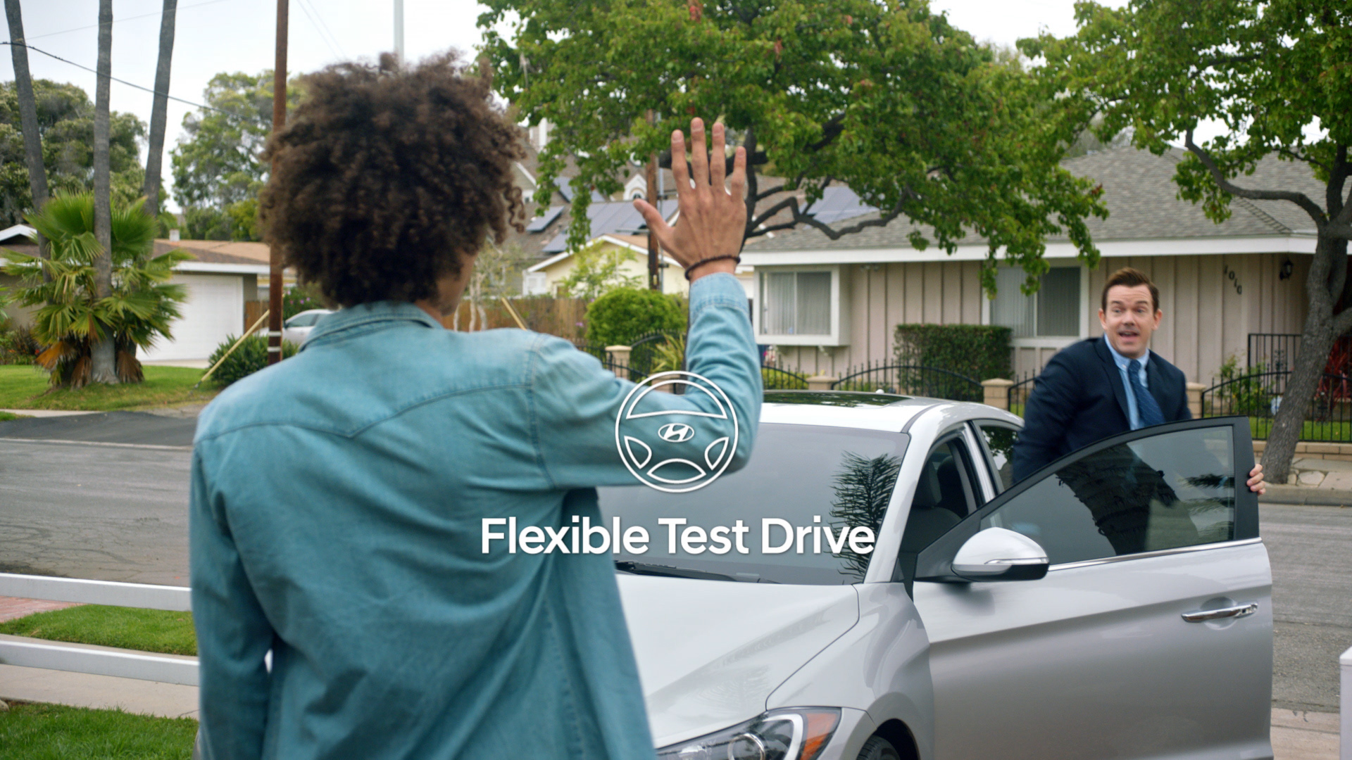 CUSTOMERS ARE GIVEN THE OPTION TO CONDUCT A TEST DRIVE FOR ANY NEW VEHICLE ON THEIR OWN TERMS THROUGH HYUNDAI DRIVE.