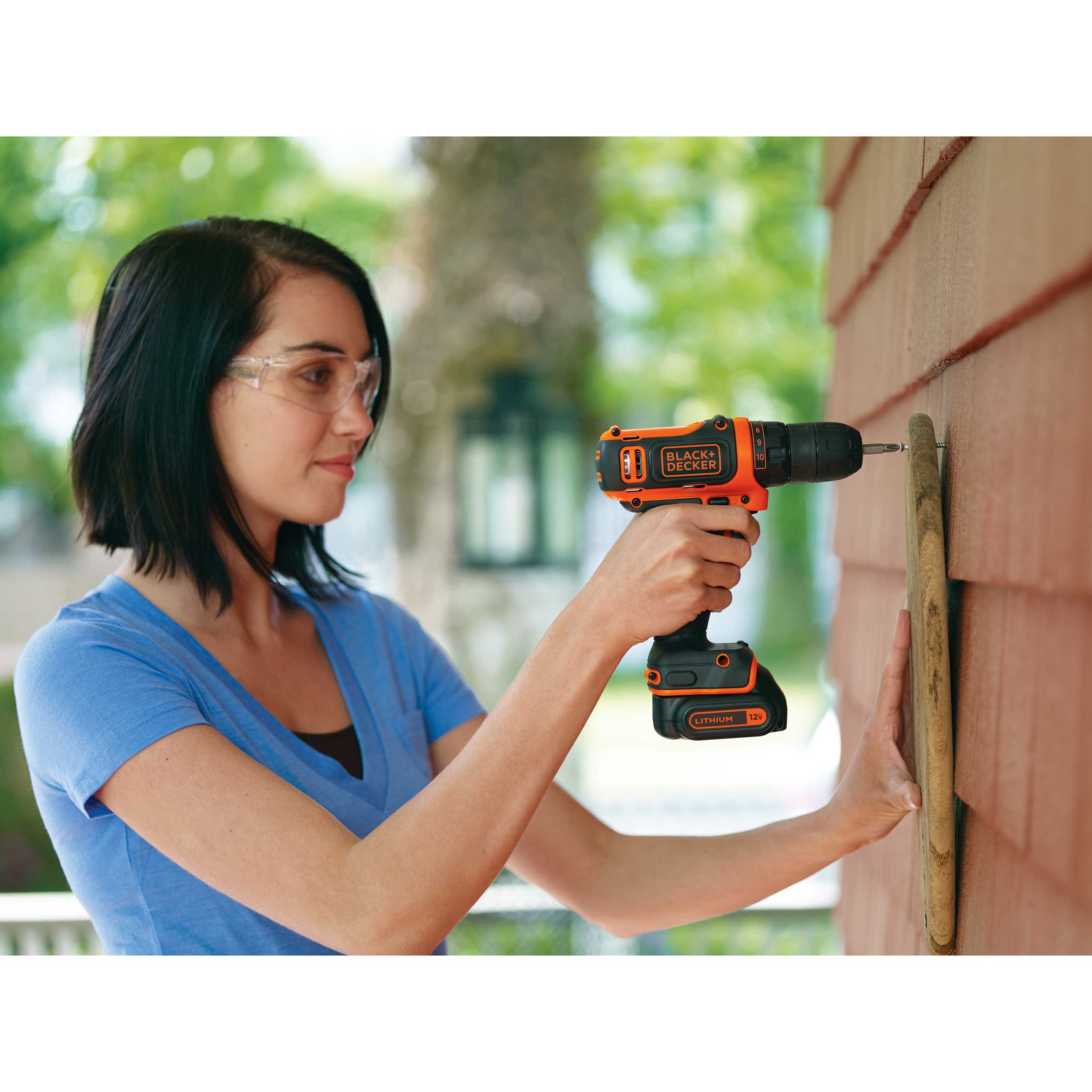 BLACK+DECKER's new 12V MAX* Cordless Lithium Drill is a great addition for any homeowner or DIYer.