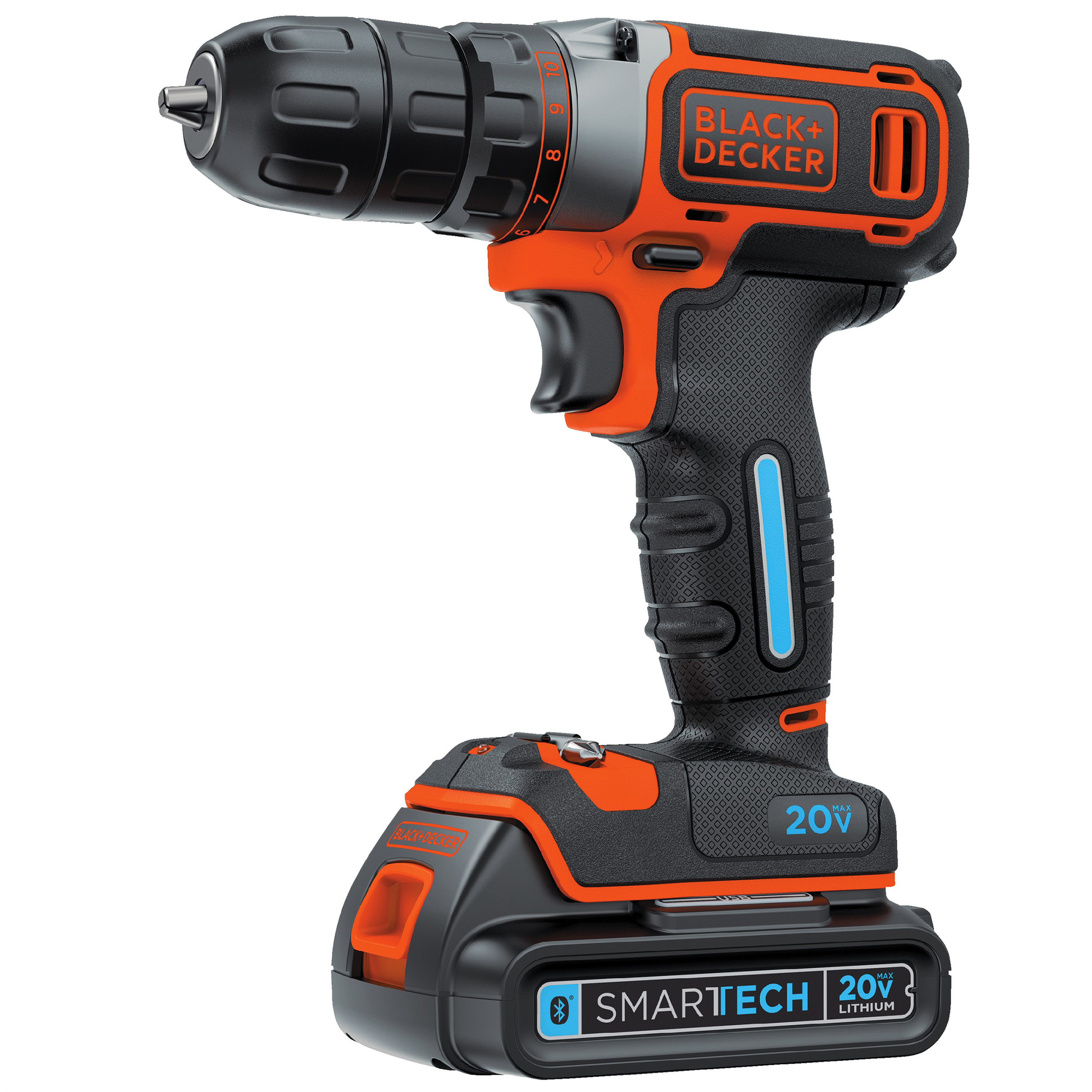 BLACK+DECKER™'s Drill with SMARTECH™ Battery retails for approximately $79 MSRP and SMARTECH™ Batteries alone retail for approximately $69 MSRP.
