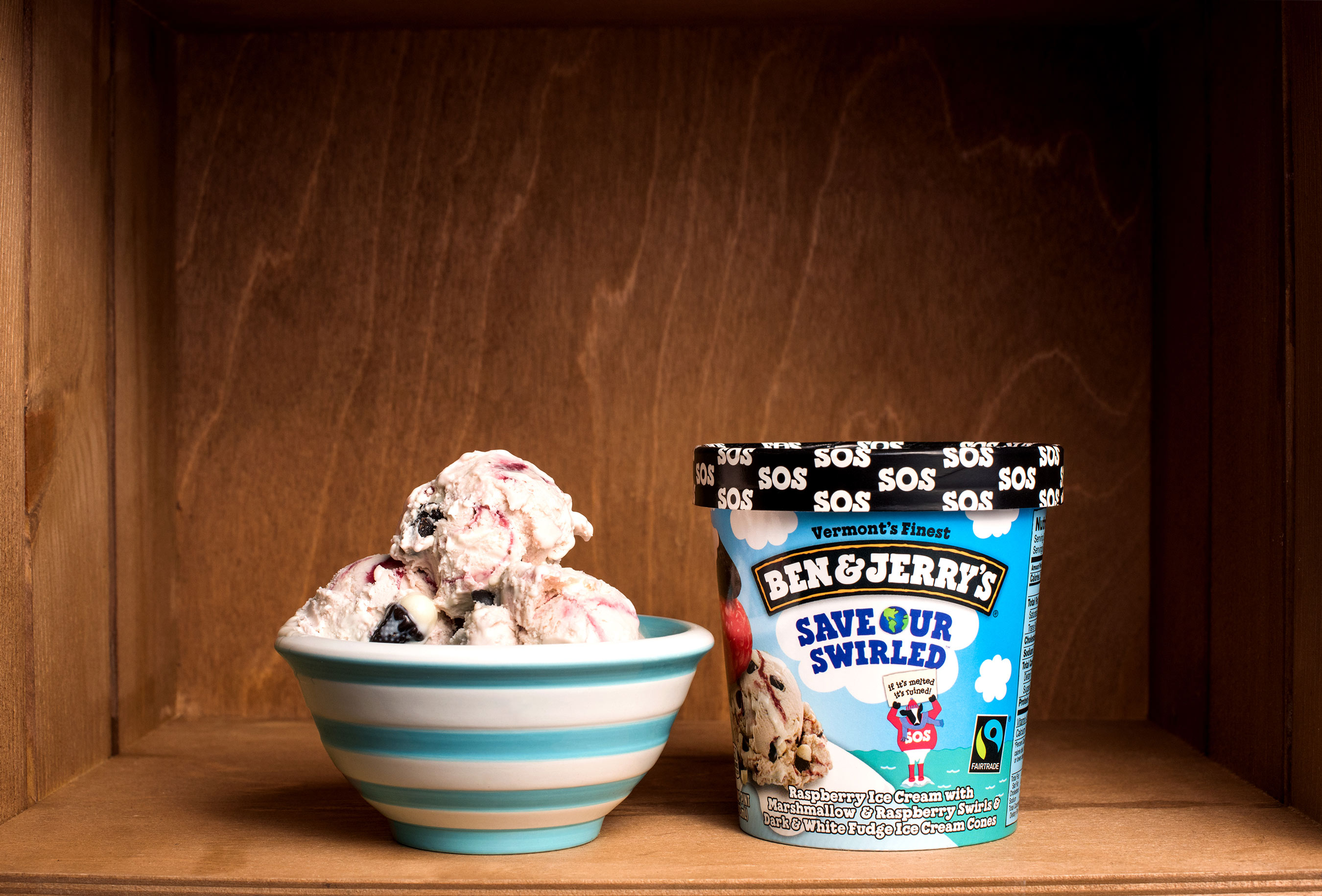 Ben & Jerry's New Ice Cream Flavour is out to Save the World