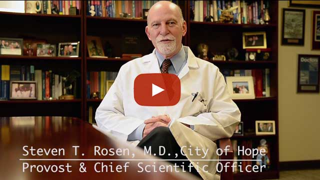 Dr. Steven Rosen of City of Hope, and chairman of The Leukemia & Lymphoma Society's Medical and Scientific Committee, discusses LLS's grant selection process.