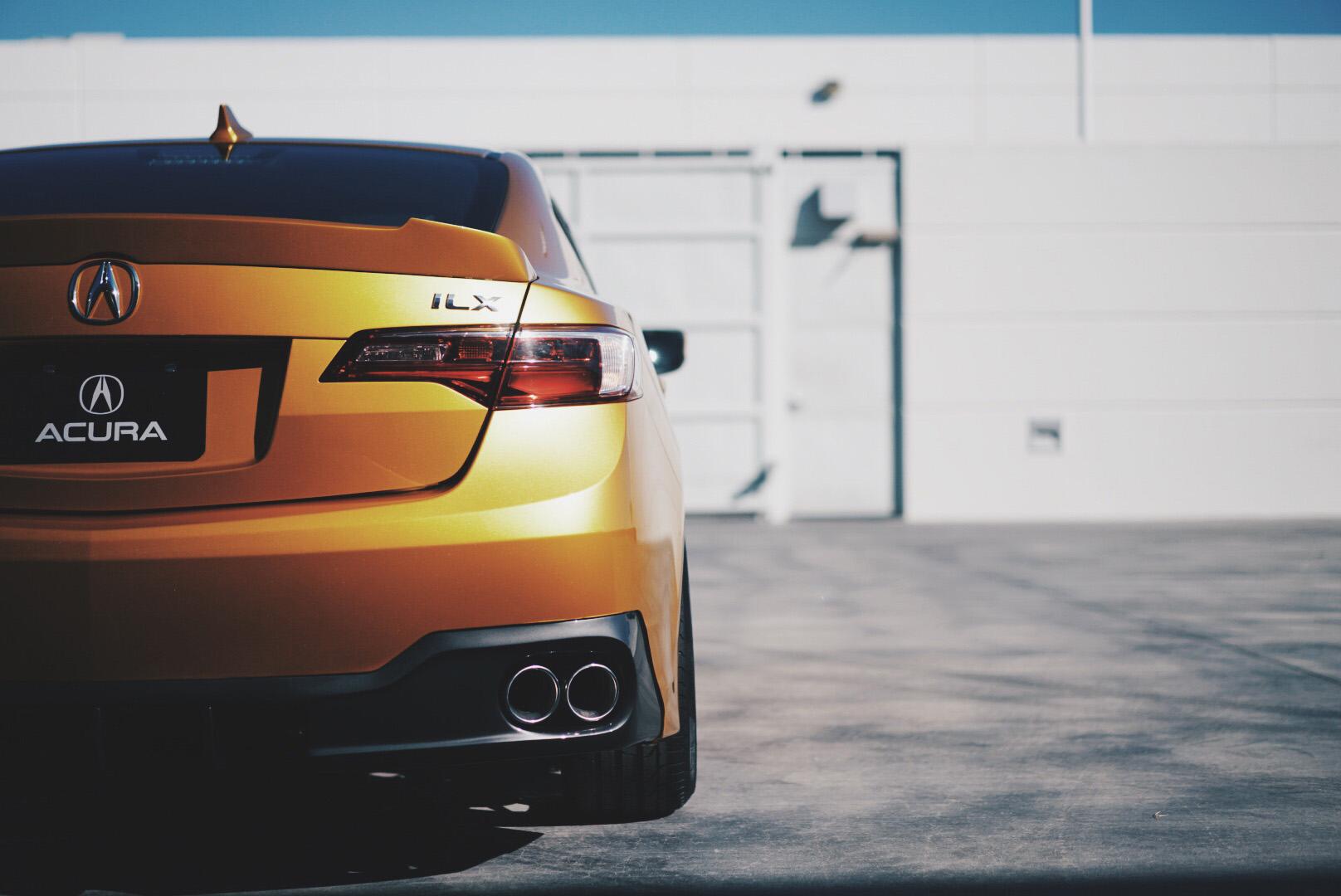ACURA: 2016 Acura ILX SEMA