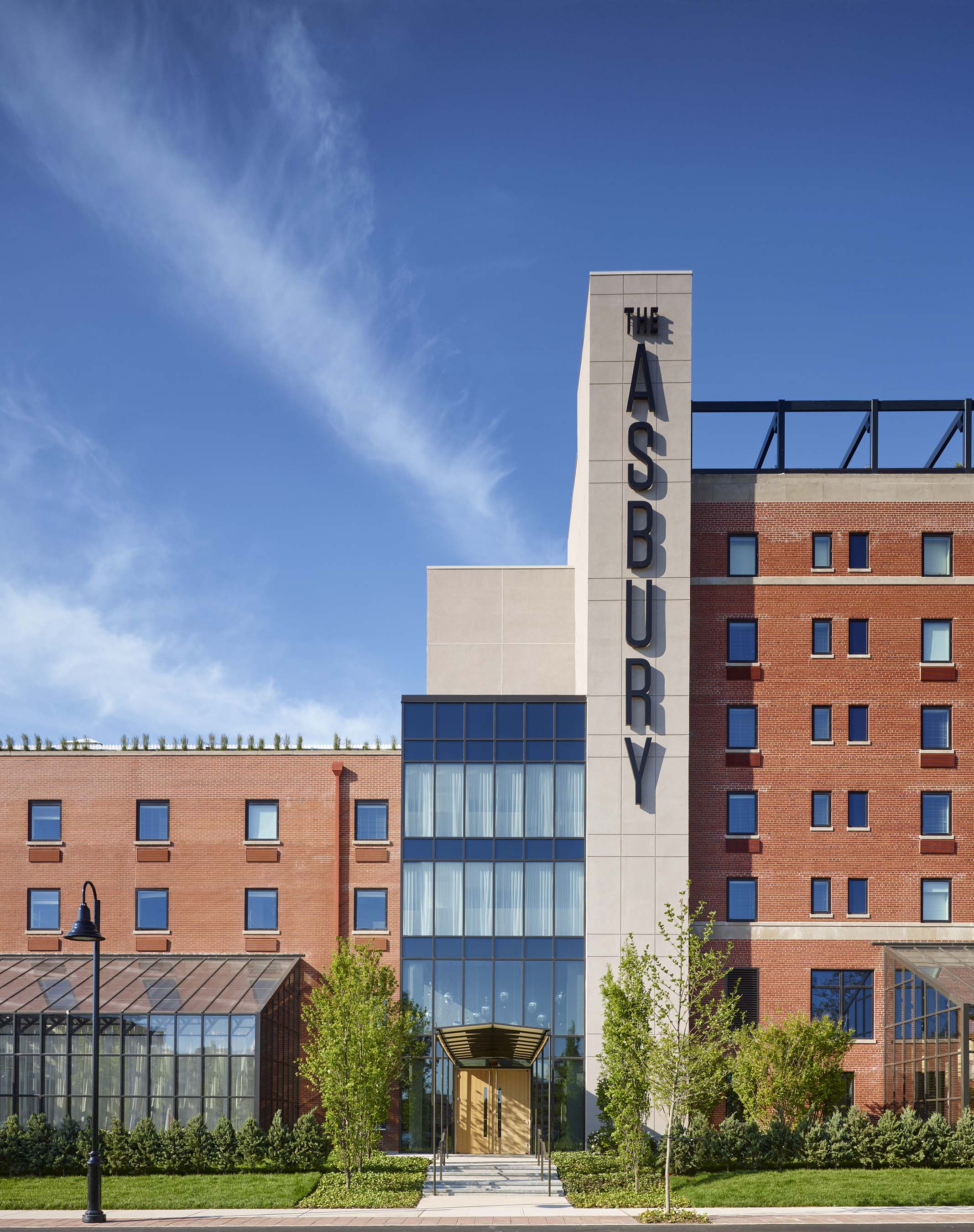 The Asbury Hotel, just named best new hotel in America by USA Today
