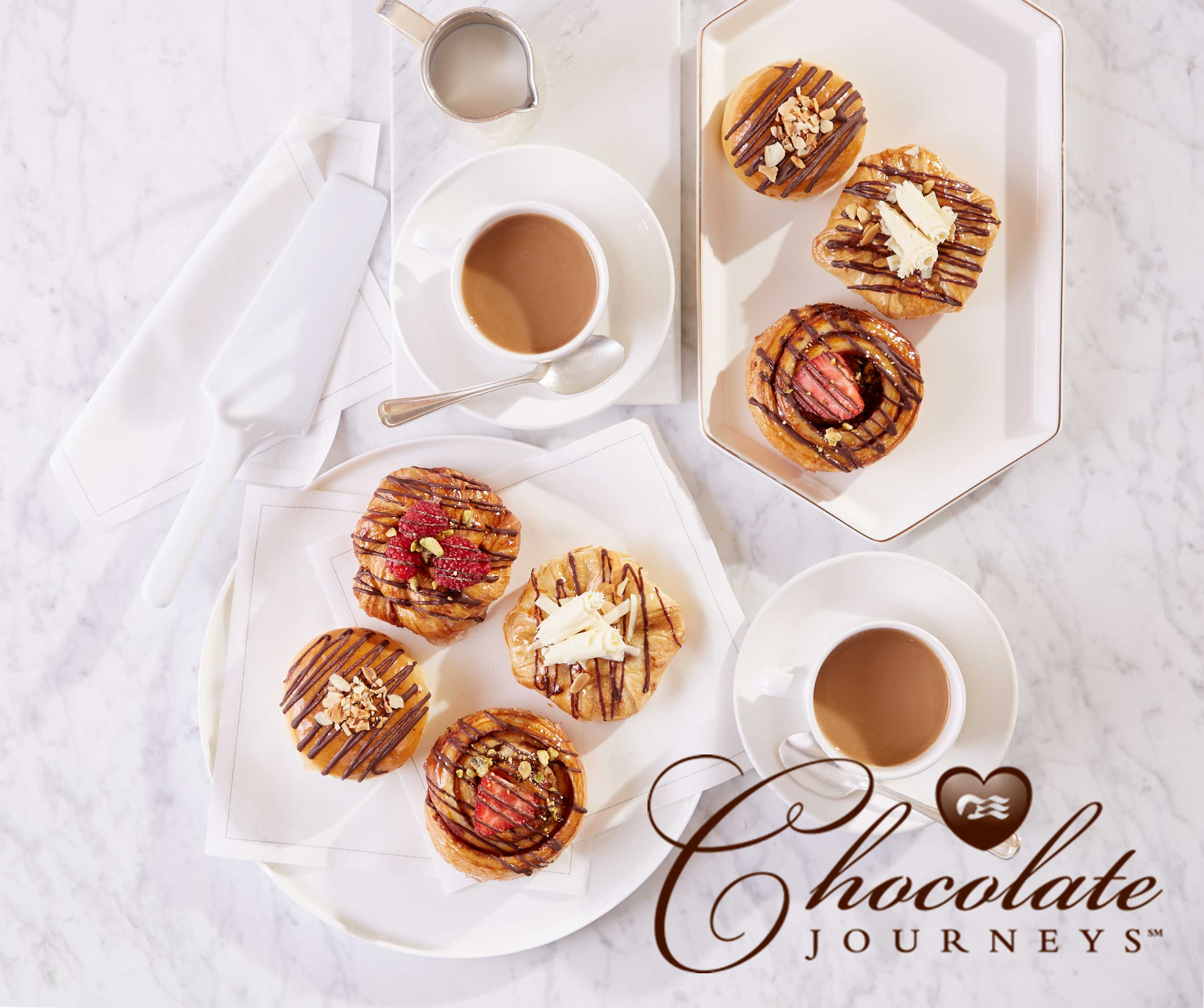 """Princess Cruises sweetens """"Chocolate Journeys"""" with new indulgences from Master Chocolatier Chef Norman Love."""