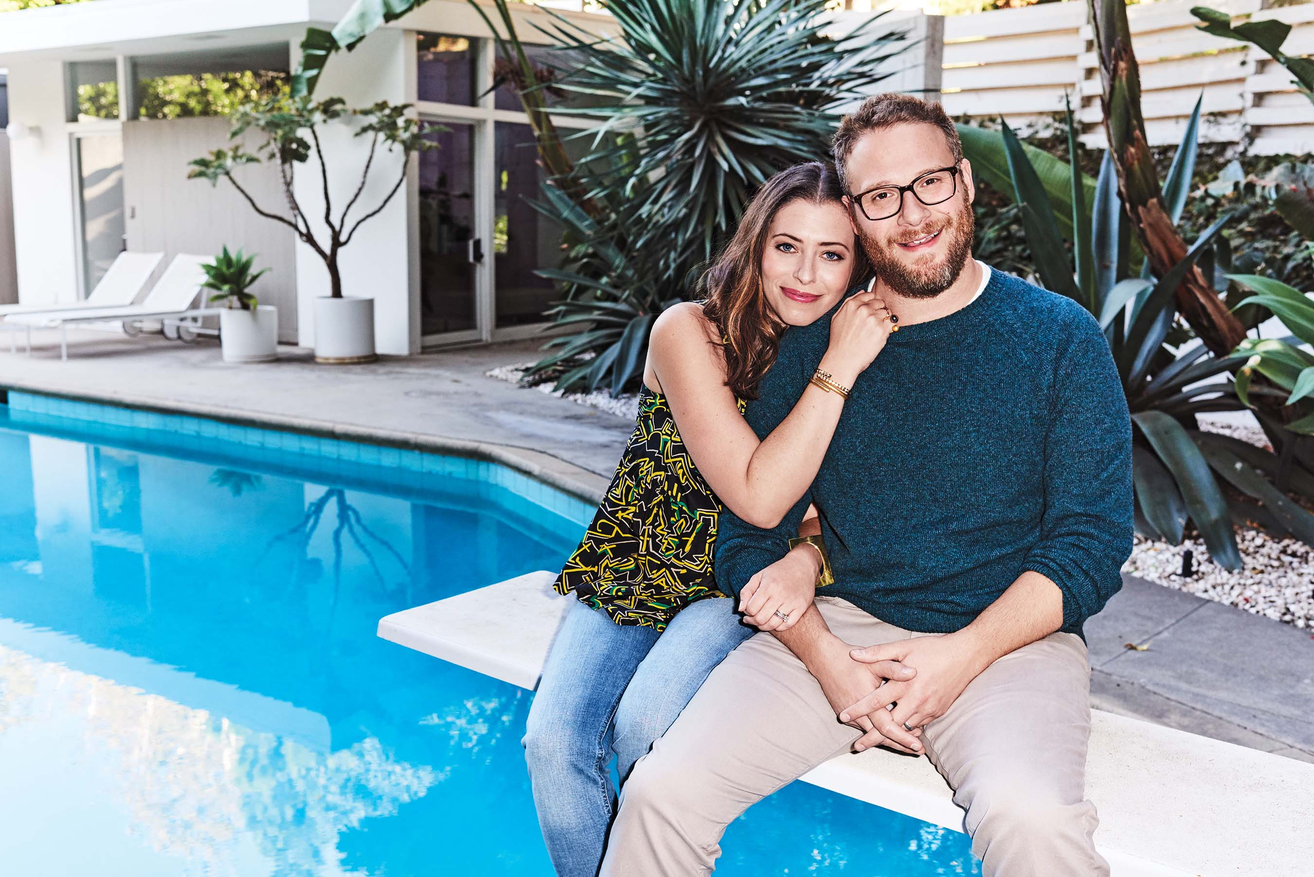 WebMD 2016 Health Hero People's Choice Award Recipients Seth Rogen and Lauren Miller Rogen