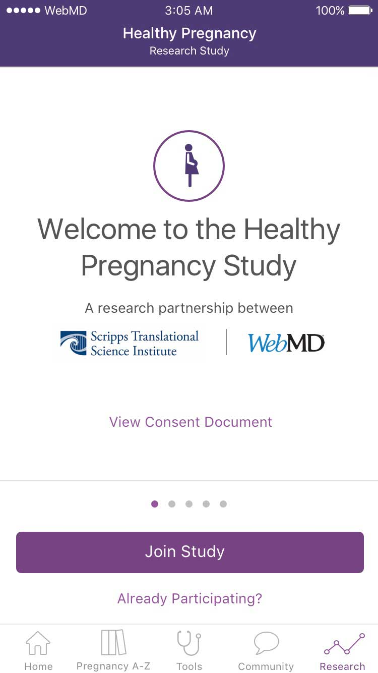 Participants can help scientists and doctors to better understand factors that contribute to healthy pregnancies.