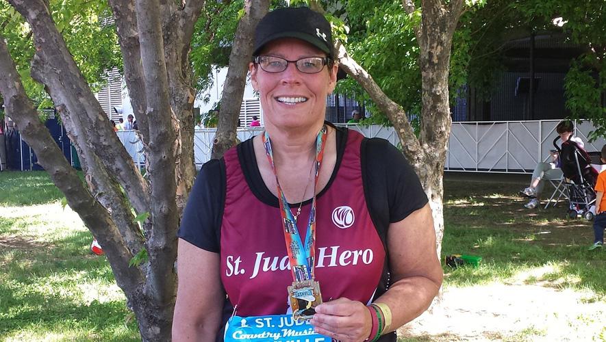 St. Jude Hero Sue Henderson