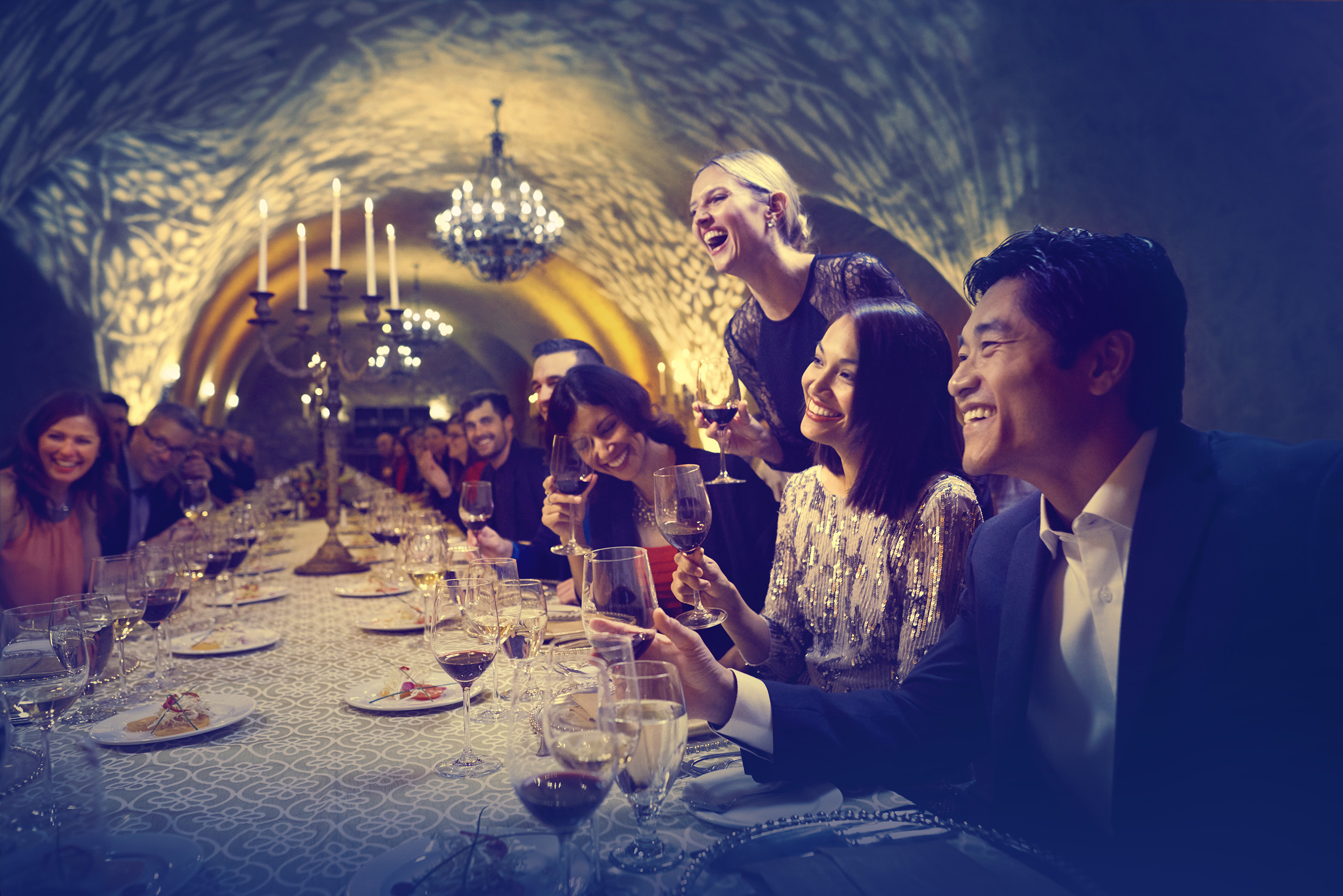 The Meritage Resort offers special event spaces in its Estate Cave, in the heart of its Vineyards, on three all-season covered terraces, and in the two largest ballrooms in the Napa Valley.