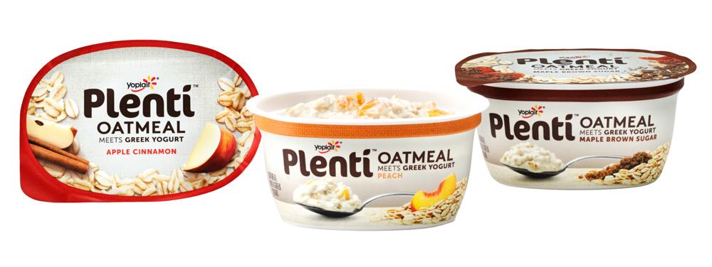 Plenti Oatmeal Meets Greek Yogurt