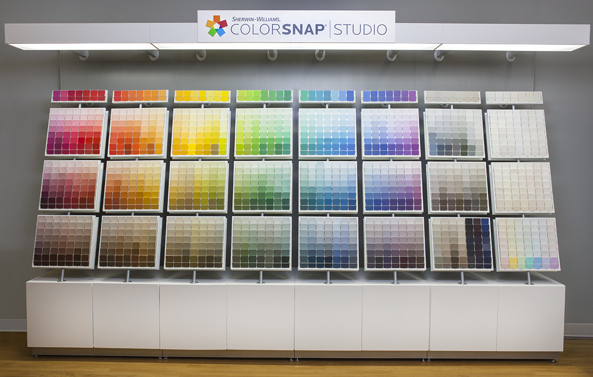 Sherwin Williams Launches Breakthrough System To Simplify Color Selection