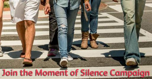Join the Moment of Silence Campaign