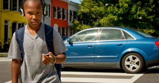 50 Percent of Teens Admit to Crossing the Street while Distracted by a Mobile Device