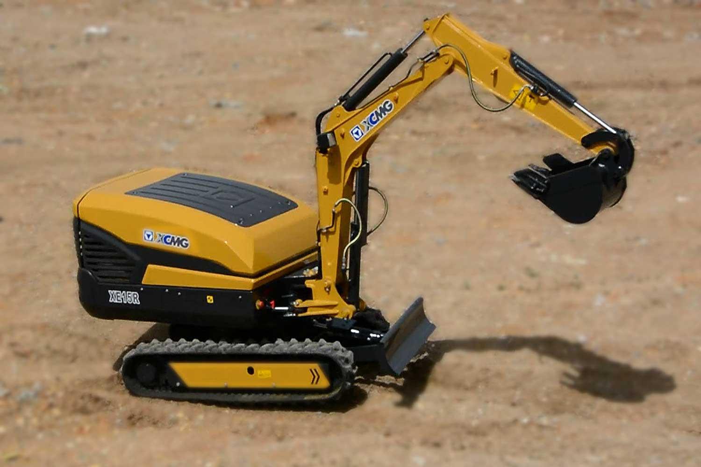 XCMG lanza su primera excavadora inteligente por control remoto