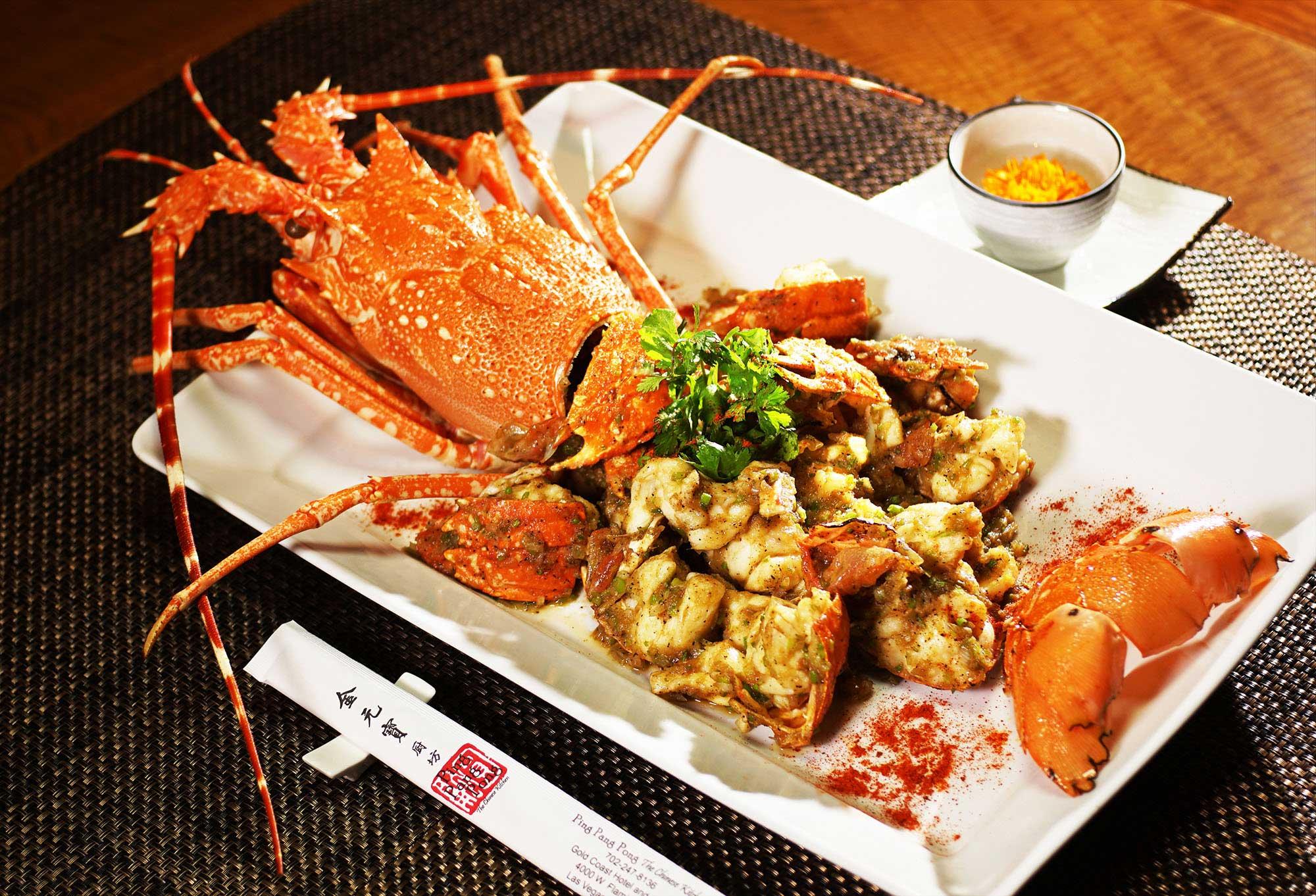 Ping Pang Pong Tai Pan Australian Lobster Dish