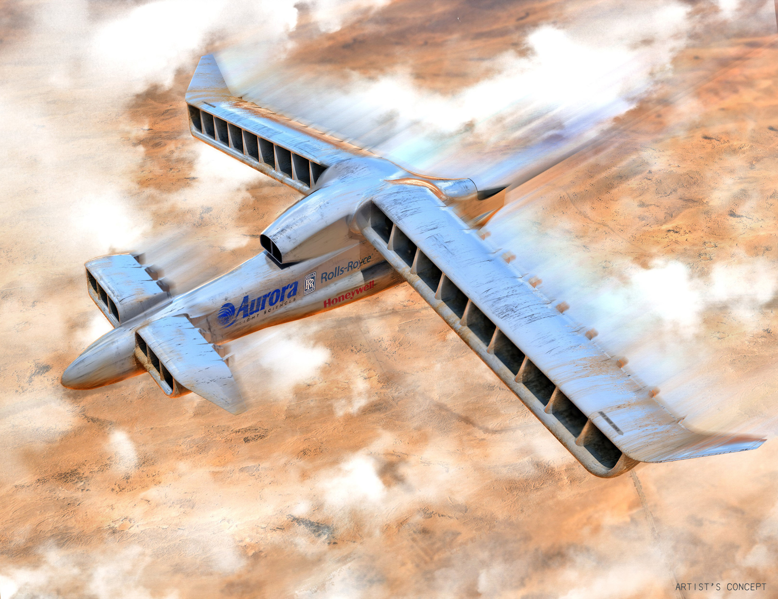 Aurora Flight Science's Vertical Take-Off and Landing Experimental Aircraft