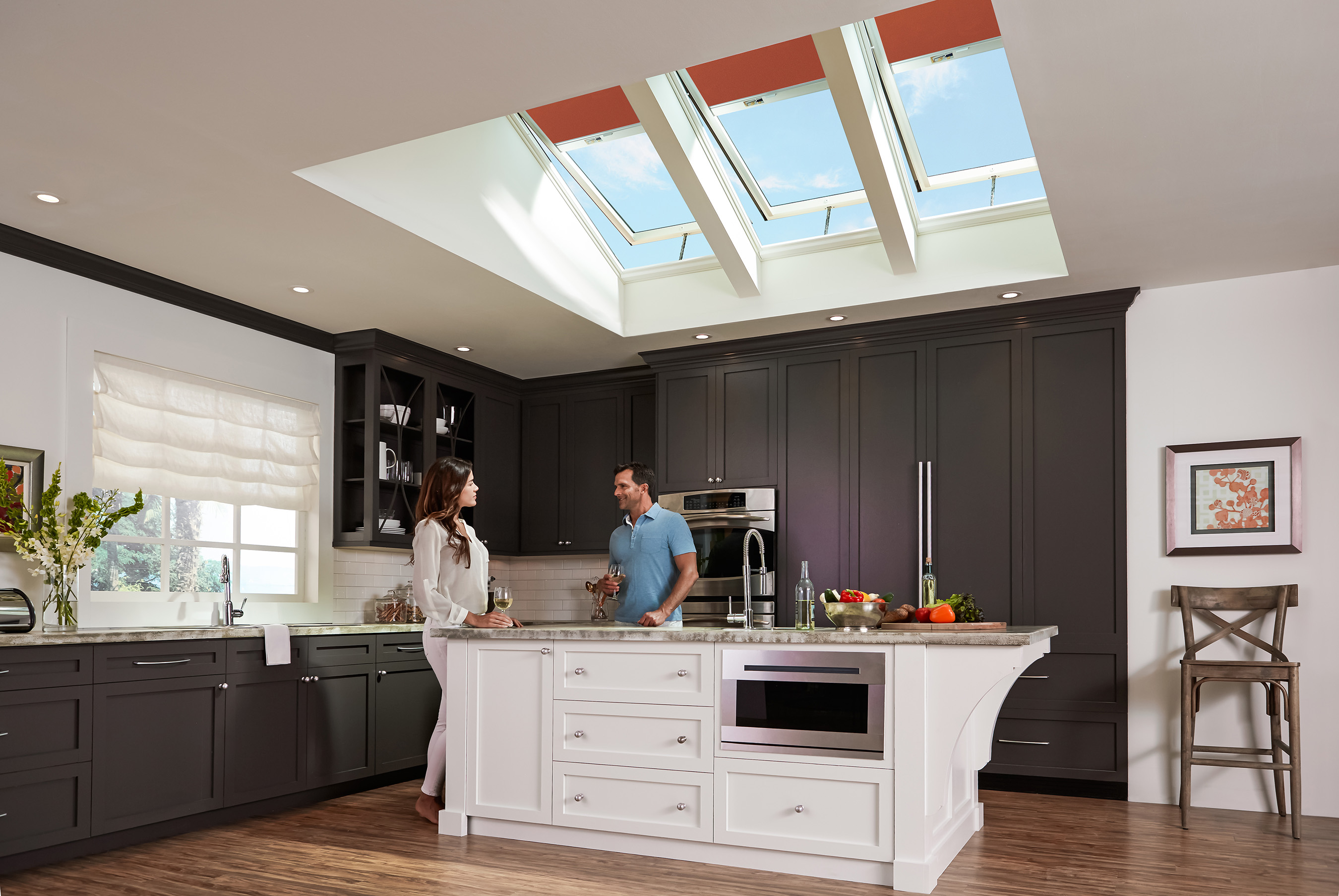 Homeowners Save Now And Later With Velux Solar Powered