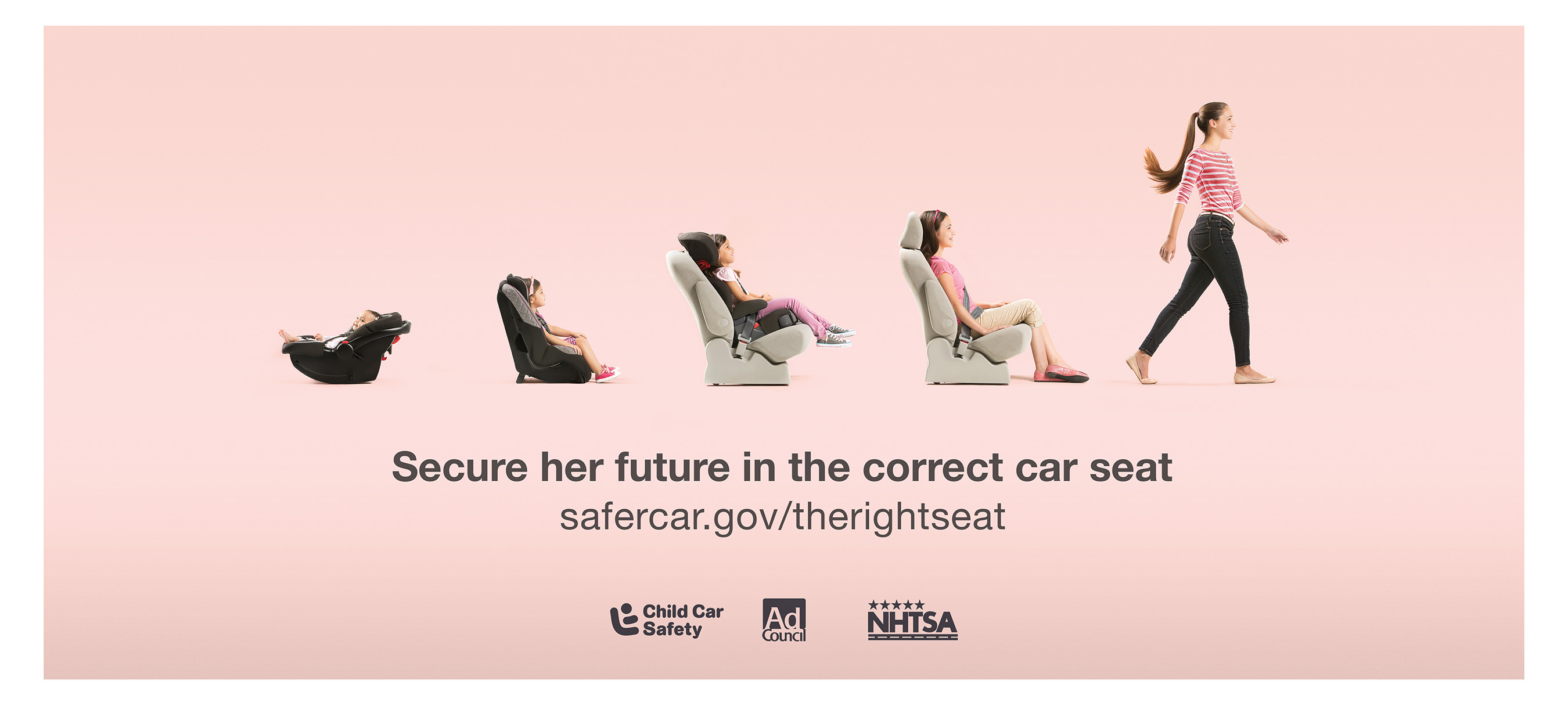 Car Seat Safety Check >> U.S. Department of Transportation and the Ad Council Kick ...