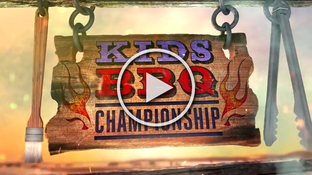 Food Network's Kids BBQ Championship premieres Monday May 23rd at 8pmET/PT