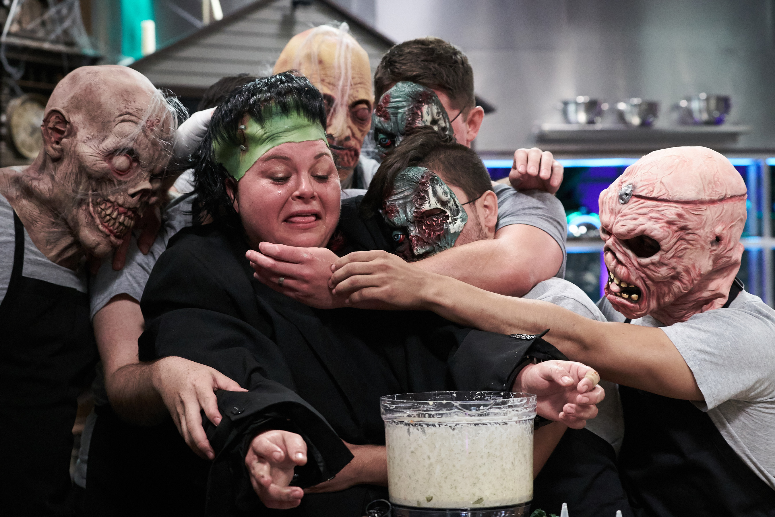Contestant Josephine Proul on Food Network's Cutthroat Kitchen: Tournament of Terror